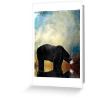 Little Boy Lost Greeting Card