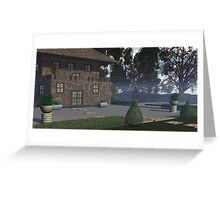 Country retreat. Greeting Card