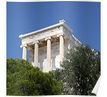 temple of athena nike Poster