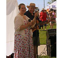 Folk Singers Photographic Print