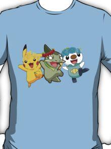 Pokemon Pals In Flower Crowns T-Shirt