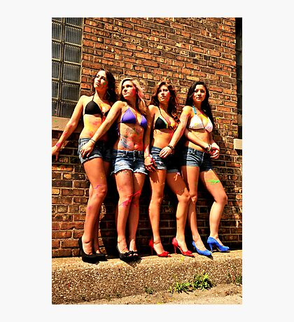 Who Wears Short Shorts!? Photographic Print