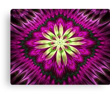 Flower Ribbon Canvas Print