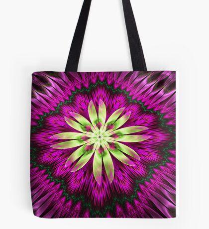 Flower Ribbon Tote Bag