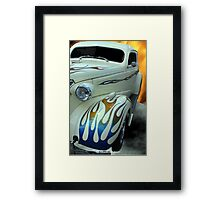 Smokin' Hot - 1938 Chevy Coupe Framed Print