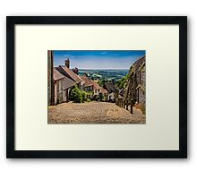 Gold Hill Shaftesbury Framed Print