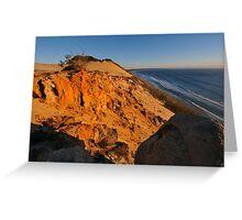 Coloured Sands at sunrise. Rainbow Beach, Queensland, Australia.(2) Greeting Card