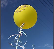 Happiness is a Yellow Balloon by eringreen157