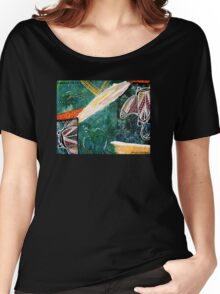 Dance of the Rays Tee Women's Relaxed Fit T-Shirt