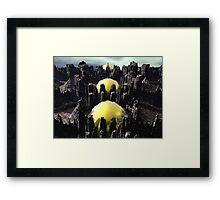 Fractaland Framed Print