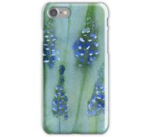 grape hyacinths pattern iPhone Case/Skin