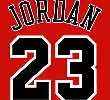 Jordan 23 Jersey by MountyBounty