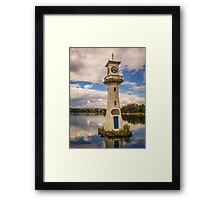 Roath Park Lighthouse Framed Print