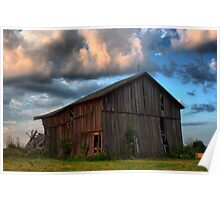 Barns of Ohio Poster