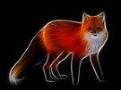 Medicine Wheel Totem Animals by Liane Pinel- Fox by Liane Pinel