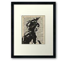 Indian,Native American,Aborigine Framed Print