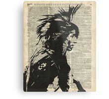 Indian,Native American,Aborigine Metal Print