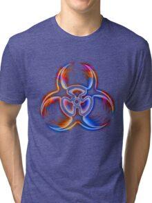 Larger Biohazard - Transparent..ish Tri-blend T-Shirt