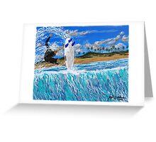 Banzai Air Greeting Card