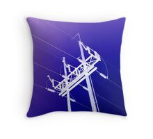 Electric!!  Throw Pillow
