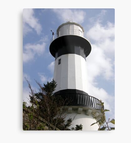 Shrove Light House County Donegal Ireland Metal Print