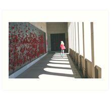 Remembering, Canberra War Memorial Art Print