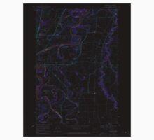 USGS Topo Map Oregon Riverside 281280 1969 24000 Inverted One Piece - Short Sleeve
