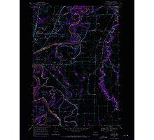 USGS Topo Map Oregon Riverside 281280 1969 24000 Inverted Photographic Print
