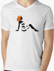 Leeloo Dallas Mudflap Mens V-Neck T-Shirt