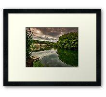 River Charente Framed Print