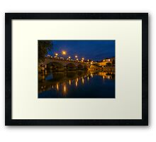 Cognac Bridge Framed Print