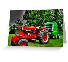 Time to Bale the Hay Greeting Card