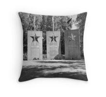 Alaskan War Memorial  Throw Pillow