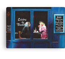 PARIS - Bistrot Canvas Print