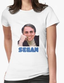 Carl Sagan Womens Fitted T-Shirt