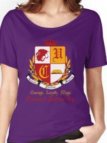Camelot University (Big, Colour) Women's Relaxed Fit T-Shirt