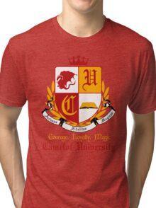 Camelot University (Big, Colour) Tri-blend T-Shirt