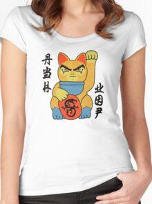 Lucky ThunderCat Women's Fitted Scoop T-Shirt