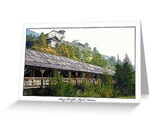 Burg Heinfels, Tyrol, Austria Greeting Card