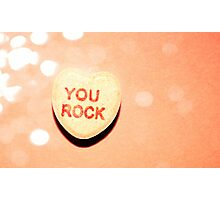you rock Photographic Print