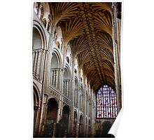 Illuminating Norwich Cathedral Poster