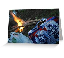 PBR Fire Greeting Card
