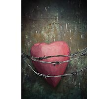 Trapped heart Photographic Print