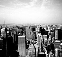New York Skyline - Midtown by Jeffrey West