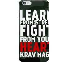 Learn From The Street Krav Maga - Camouflage iPhone Case/Skin
