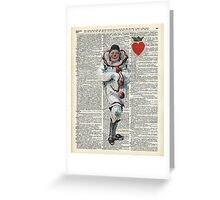 Joker from Playing Cards,Clown,Circus Actor Greeting Card