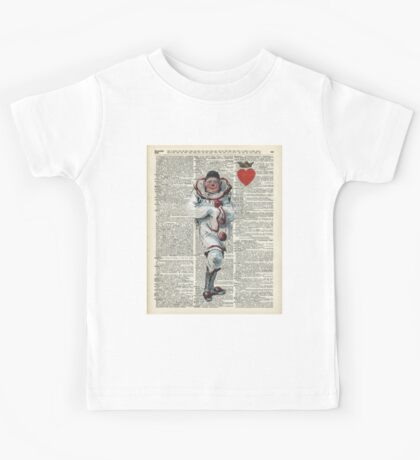 Joker from Playing Cards,Clown,Circus Actor Kids Tee