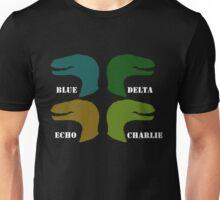 Blue, Delta, Echo, Charlie Unisex T-Shirt