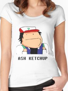 Ash Ketchup Women's Fitted Scoop T-Shirt