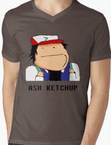Ash Ketchup Mens V-Neck T-Shirt